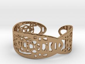 UI9 Design Bracelet 5,8 cm in Polished Brass
