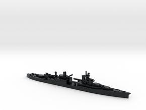 USS Portland 1/1800 in Black Hi-Def Acrylate