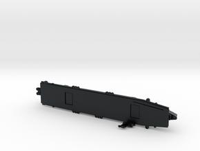 USS Sangamon 1/1800 in Black Hi-Def Acrylate