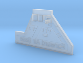 Forward Airbase in Smooth Fine Detail Plastic