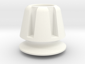 Lancia Delta Tank Spacer in White Processed Versatile Plastic