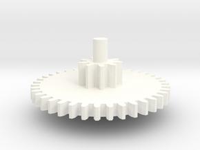 Magbox Gear CYMA Ak Drum 2&3 in White Processed Versatile Plastic