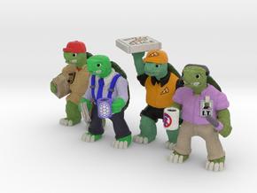 Middle Age Mutant DayJob Tortoises (4) in Full Color Sandstone