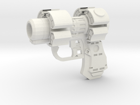 Gantz X-Gun in White Natural Versatile Plastic