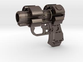 Gantz X-Gun in Polished Bronzed Silver Steel