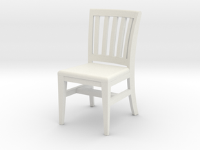 1:48 Courtroom Chair in White Strong & Flexible