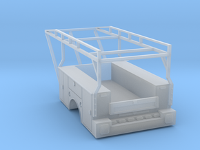 Standard Truck Bed With Ladder Rack 1-87 HO Scale in Frosted Ultra Detail