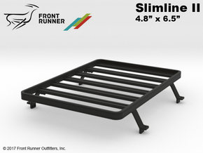 FR10025 Tundra Slimline II Bed Rack 4.8 x 6.0 in Black Strong & Flexible