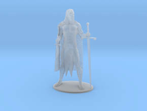 AdventureQuest: Jaern Barbarian Miniature in Smoothest Fine Detail Plastic: 1:60.96