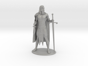 AdventureQuest: Jaern Barbarian Miniature in Aluminum: 1:60.96