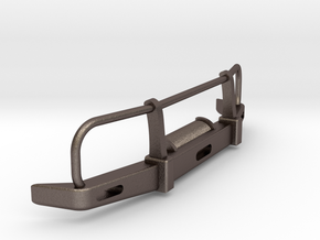 RC Toyota Hilux Bullbar 1:10 scale in Polished Bronzed Silver Steel