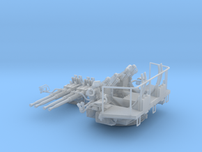 1/35 40mm Bofors Quad Mount USN WWII ships in Smooth Fine Detail Plastic