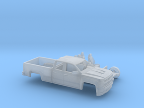 1/160 2016/17 Chevrolet Silverado EXT Cab Long Bed in Frosted Ultra Detail
