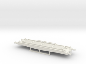 Flat wagon for yard workers use in White Natural Versatile Plastic