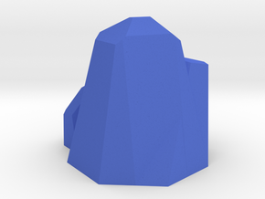 Septahedron in Blue Strong & Flexible Polished