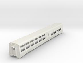 AMTRAK Viewliner2 Dining Car in HO in White Natural Versatile Plastic