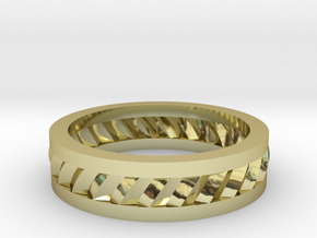 Mans Band  M-005 in 18k Gold