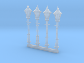 Victorian Street Light 28mm Group in Smooth Fine Detail Plastic