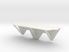 Thumbtack Dry Wall Shelf in White Natural Versatile Plastic