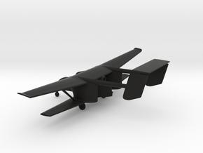 PZL M-15 Belphegor in Black Natural Versatile Plastic: 1:160 - N