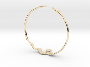 Drip Bracelet - Large in 14K Yellow Gold: Large