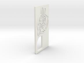TLF# - Shabby Bunny - Door in White Strong & Flexible