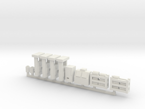 Modern Gas Station Accessories - Sscale in White Natural Versatile Plastic