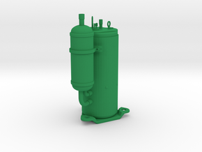 AWECO Compressor QXAS in Green Strong & Flexible Polished