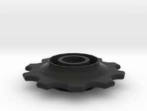 Rear derailleur wheel in Black Natural Versatile Plastic