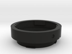 Leica M OUFRO Macro adapter in Black Natural Versatile Plastic