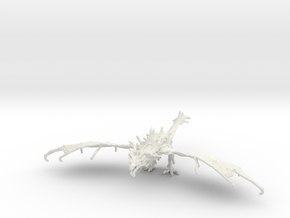 Alduin in White Natural Versatile Plastic
