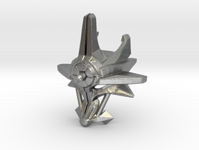 Mask Of Ultimate Power in Raw Silver