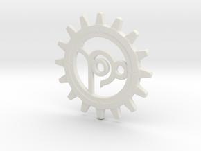 Capricorn Gear in White Natural Versatile Plastic