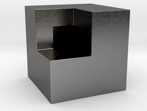 7/8 inch Boolean Bold in Polished Nickel Steel