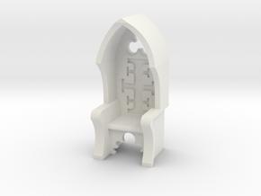 Chair Inquisitor V2 in White Natural Versatile Plastic