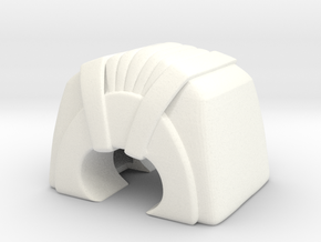 Rekki-Maru Pommel in White Processed Versatile Plastic