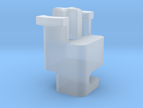 Topre to MX 6.25u Stabilizer Plunger (Left) in Smooth Fine Detail Plastic