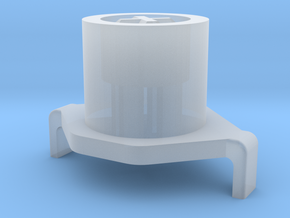 Topre to MX 1u Plunger in Smooth Fine Detail Plastic