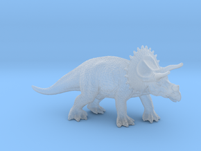 Triceratops in Smooth Fine Detail Plastic: 1:300