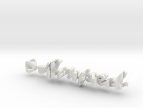 Twine Amped/Atelier  in White Natural Versatile Plastic
