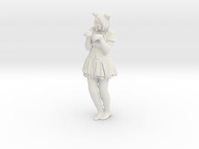 Printle C Femme 551 - 1/24 - wob in White Natural Versatile Plastic