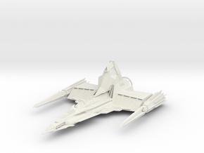 Draconian Marauder From Buck Rogers In The 25th Ce in White Strong & Flexible