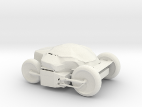 Printle Thing Vehicle - 1/24 in White Natural Versatile Plastic