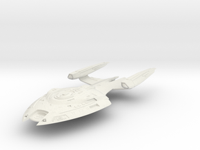 Zebulon Class  LtCruiser in White Strong & Flexible