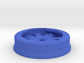 Garmin Eighth-Turn Socket Flat Mount in Blue Strong & Flexible Polished: Small