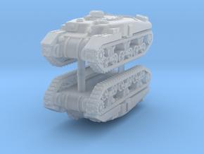 1/285 Ram Badger flamethrower (x2) in Smooth Fine Detail Plastic