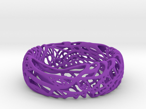Peaceluvband in Purple Strong & Flexible Polished