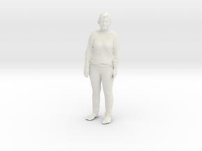 Printle C Femme 081 - 1/18 - wob in White Natural Versatile Plastic