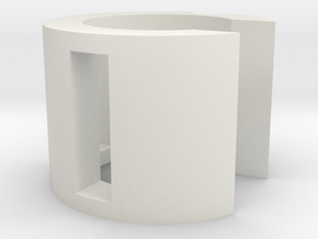 Romans props Inception battery holder 2 of 2 in White Natural Versatile Plastic