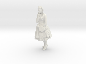 Printle C Femme 127 - 1/20 - wob in White Strong & Flexible